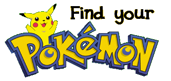 Find your Pokemon